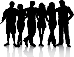 Image result for silhouette people clipart