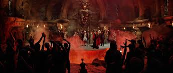 Image result for indiana jones and the temple of doom india cult